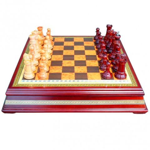 Настольня игра шахматы классические 176-003 Lefard 40x40x8 см