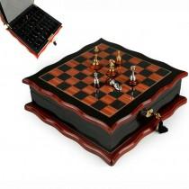 Красивые деревянные шахматы 176-004 Lefard 11x32x32 см