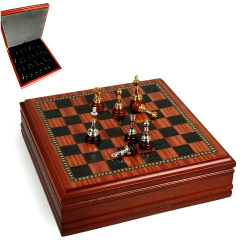 Шахматы деревянные 176-024 Lefard 31x31x9 см