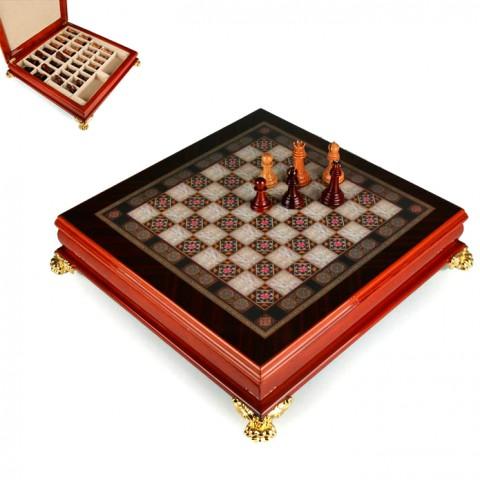 Подарочные деревянные шахматы 176-025 Lefard 40x40x9 см