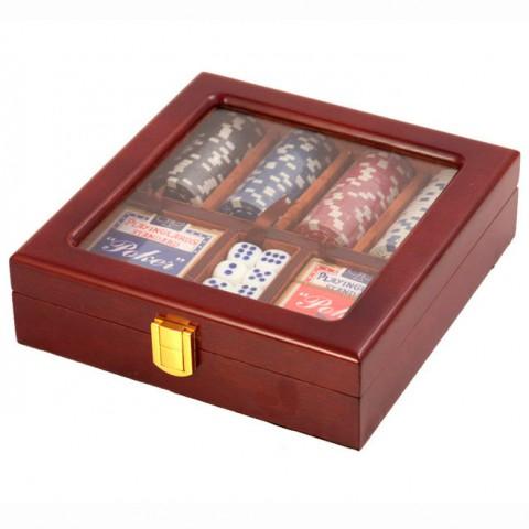 Покер настольная игра 176-088 Lefard 22x21x6 см
