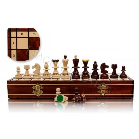Шахматы резные из дерева Madon C-134 Жемчужина малая (Perelka mala)