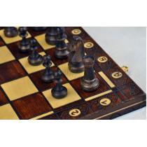 Шахматы резные из дерева Wegiel C-135a Юниор (Junior)