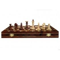 Шахматы из дерева резные Wegiel C-161 Сенатор
