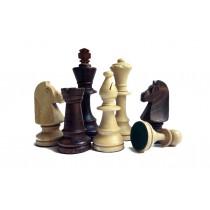 Деревянные шахматные фигуры в пакете Wegiel C-191b стаунтон №5
