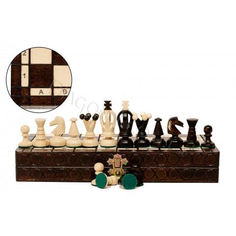 Резные шахматы Madon C-113 Королевские малые (Krolewskie male)
