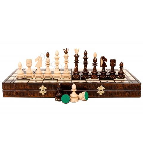 Резные шахматы Madon C-119 Индийские большие (Indyjskie)