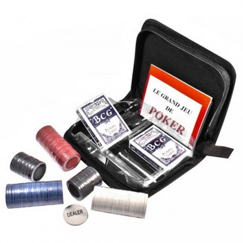 Покерный набор Duke CC02100 в тканевом кейсе
