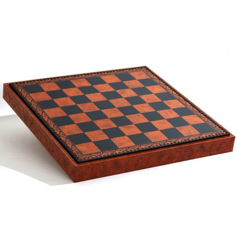 Доска-бокс коричневая Nigri Scacchi CD48 48x48x4см