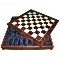 Шахматное поле-бокс с местом для укладки шахмат Nigri Scacchi CD64G 64x64x12см