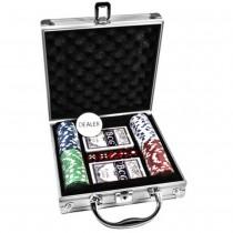 Покерный набор Duke CG-11100 в алюминиевом кейсе на 100 фишек