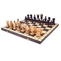 Королевские шахматы из цельного дерева инкрустированные Kings 50 см