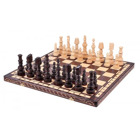 Шахматы из натурального дерева ручной работы Mars 60 см