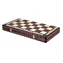 Деревянная шахматная доска футляр Марс 60x60 см