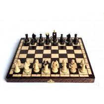 Набор шахматный из натурального дерева Королевские 34 см