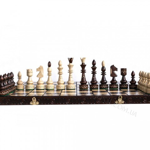 Шахматы деревянные красивые Индийские (Indian) 53 см CH119