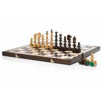 Старопольские шахматы ручной работы Old Polish 58 см