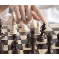 Деревянные шахматы Олимпийские 42 см