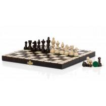 Олимпийские шахматы из натурального дерева 30 см