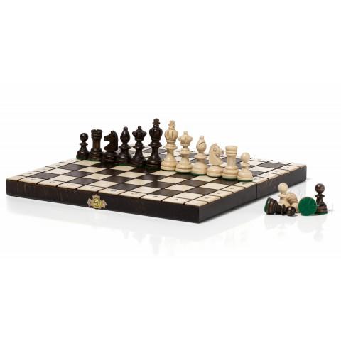 Олимпийские шахматы из натурального дерева 30 см CH122B