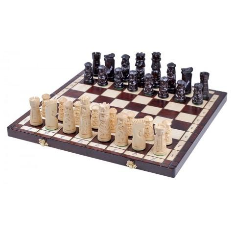 Эксклюзивные шахматы деревянные Muminek 50 см