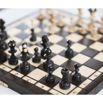 Деревянный шахматный набор жемчужина 35x35 см