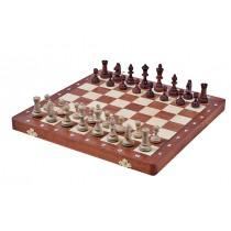 Магнитные шахматы Magnetic 35 см шпон