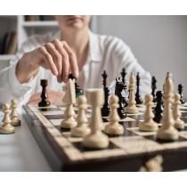 Сувенирные шахматы Клубные (Club) из граба 48 см CH150