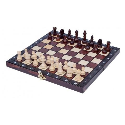 Шахматы из натурального дерева турнирные туристические