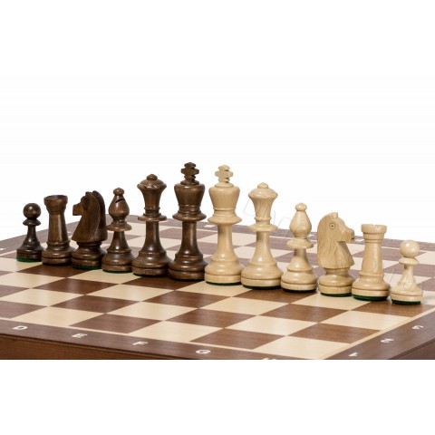 Деревянные турнирные шахматы №5 из граба CH95 Intarsy