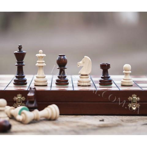 Деревянные шахматы турнирные серия №8