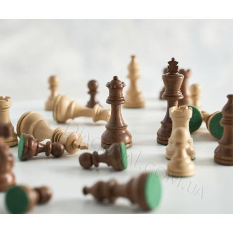 Шахматные фигуры ручной работы Американский Стаунтон №6