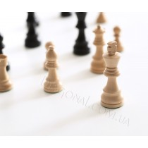 Шахматные фигурки Немецкий Стаунтон №5 черные
