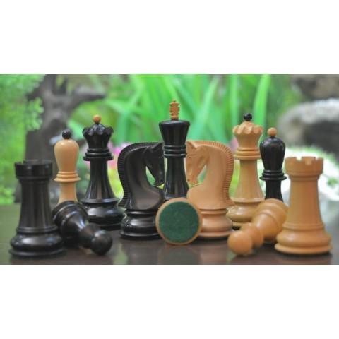 Большие шахматные фигуры Загреб №6 черные