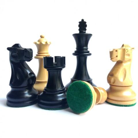 Шахматные фигуры с матча Фишер-Спасский №6 черные