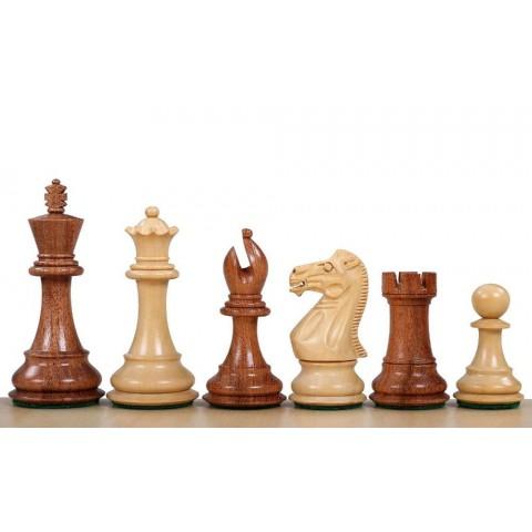 Шахматные фигуры спокойный конь brown №5