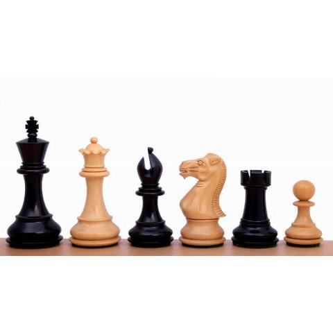 Фигуры шахматные спокойный конь черные №6