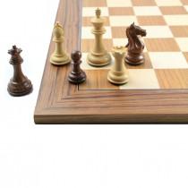 Шахматные фигуры Суприм (Supreme) №5 коричневые