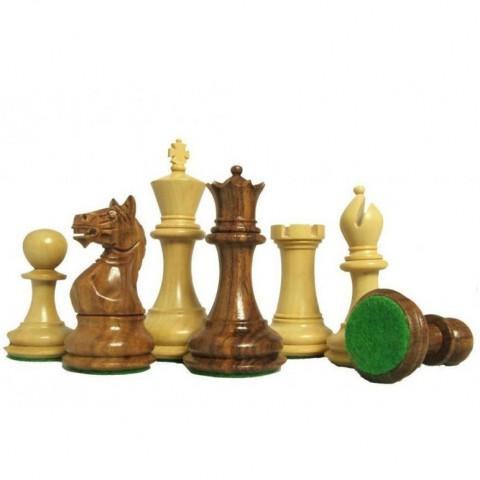 Шахматы фигуры Суприм (Supreme) №6 коричневые