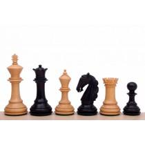 Шахматные фигуры из дерева Колумбийский конь №5 черные