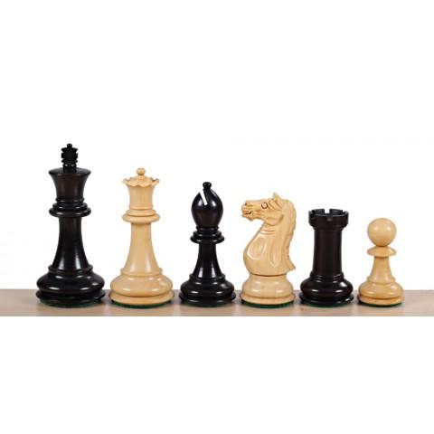 Шахматные фигуры большие Оксфорд №6 черные