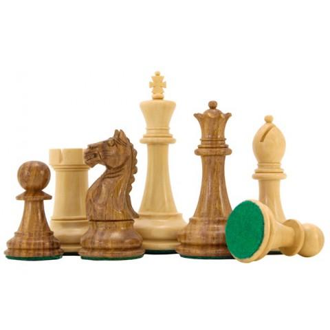 Красивые шахматные фигуры Оксфорд №6 коричневые