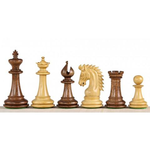 Большие шахматные фигуры Шейх №6 индийская акация