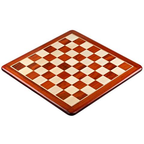 Шахматная деревянная доска люкс №6 красное дерево падук