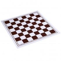 Складная пластиковая шахматная доска 50x50 см