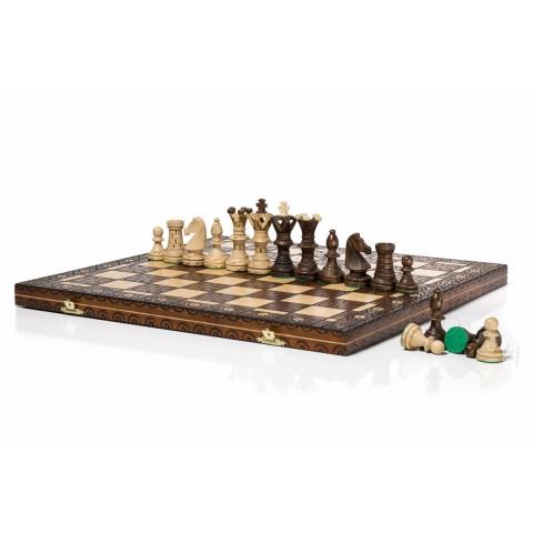 Подарочные деревянные шахматы Роял (Амбасадор) 54 см CHW2