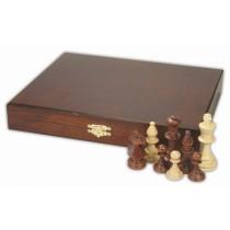 Коробка для шахмат натуральное дерево №5 Делюкс