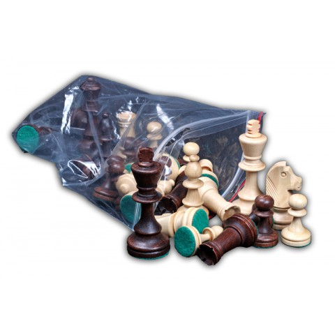 Шахматные фигуры классические деревянные Стаунтон №4