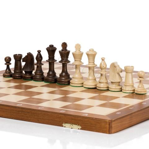 Шахматные фигуры Польский Стаунтон №6