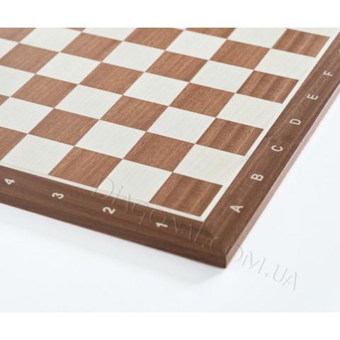 Деревянная шахматная доска №5 красное дерево